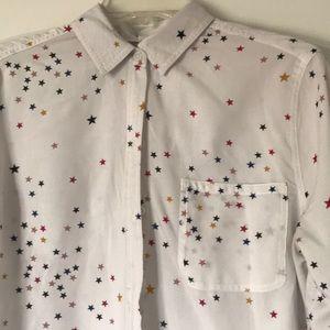 Stars button shirt